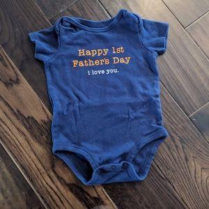 Happy 1st Father's Day Bodysuit